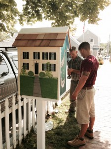 Watch a video about Sturgis *little free* Library