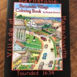 Barnstable Village Coloring Book