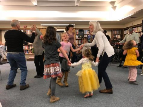 people of all ages dancing together